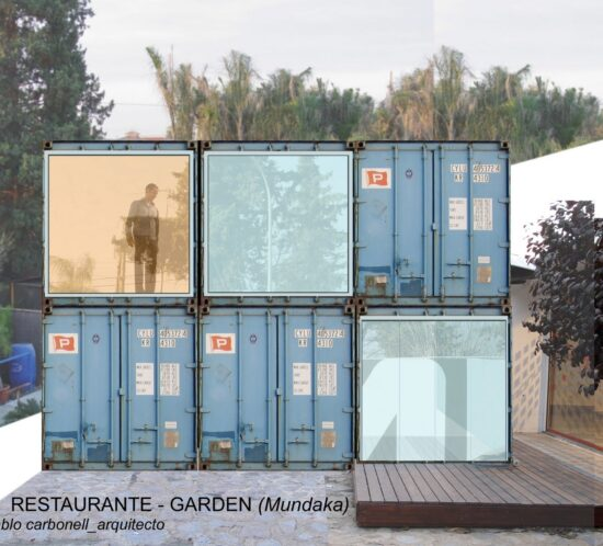 Restaurante ecológico prefabricado Murcia