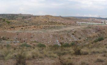 Recuperación ambiental y paisajística Las Zorreras - Antes