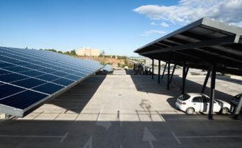 Aparcamientos fotovoltaicos para el Campus de Espinardo de la Universidad de Murcia
