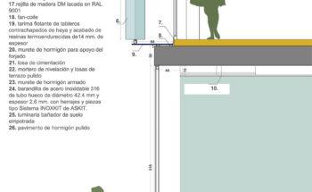 Detalle Constructivo Imprenta Regional Murcia