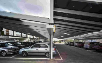 Parking fotovoltaico Imprenta Regional Murcia