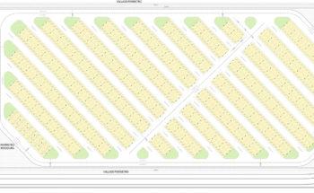 Planta cubierta Fase 2. Aparcamiento fotovoltaico del Aeropuerto Internacional Región de Murcia