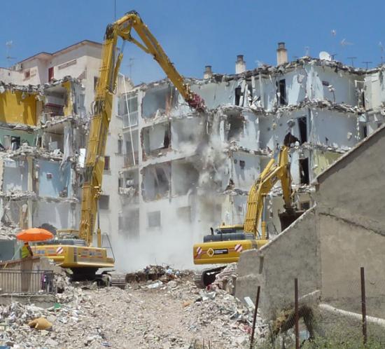 Ecoproyecta - Rehabilitación estructural del Edificio Pirámide tras los terremotos de Lorca del 11 de mayo de 2011
