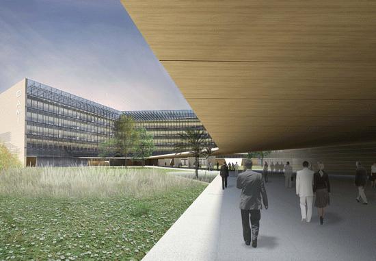 Ecoproyecta - Propuesta para el Concurso de Ampliación de la sede de la OAMI en Alicante