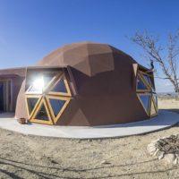 Exterior con la instalación fotovoltaica