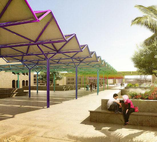 solar canopy Hashemite University