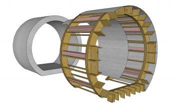 Estructura cilindro mirador